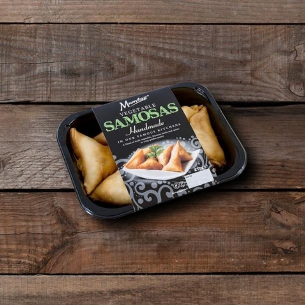vegetable samosas pack